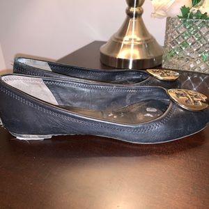 Tory Burch Shoes - GUC Tory Burch Black Flat
